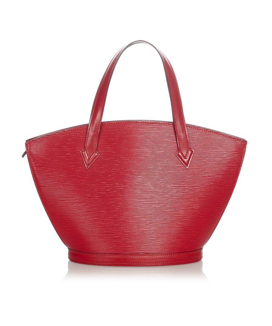 Image for Vintage Louis Vuitton Epi Saint Jacques PM Short Strap Red