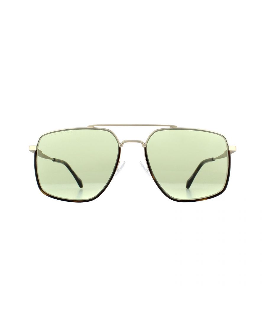 Image for Hugo Boss Sunglasses 1091/S CGS GP Light Gold Green