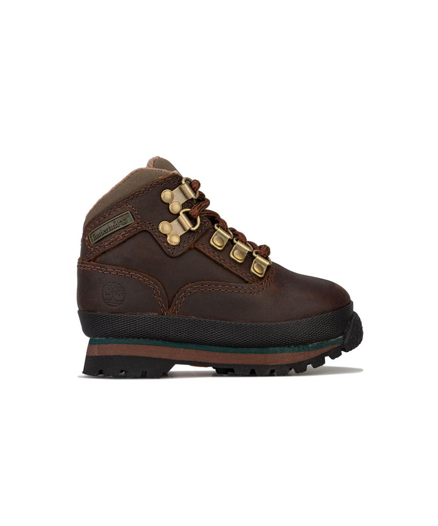 Image for Boy's Timberland Infant Euro Hiker Boots in Brown