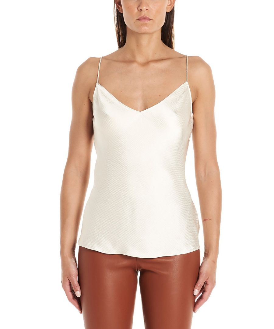 Image for THEORY WOMEN'S J0406506Q5H WHITE VISCOSE TOP