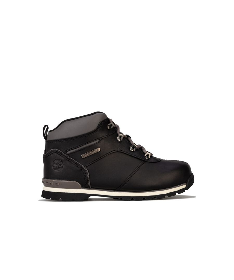 Image for Boy's Timberland Junior Splitrock 2 Boots in Black