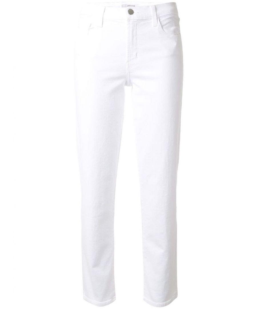 Image for J BRAND WOMEN'S JB002692J1617 WHITE COTTON JEANS