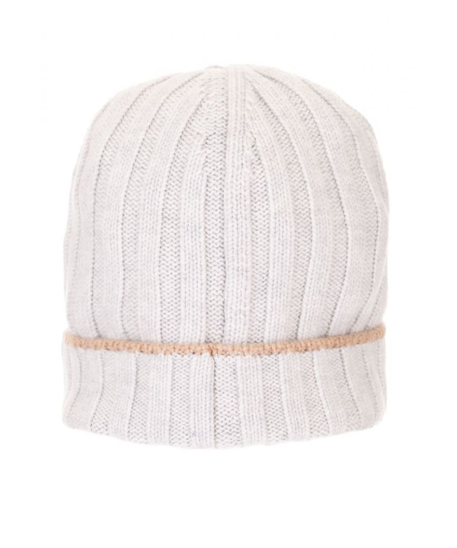 Image for BRUNELLO CUCINELLI MEN'S M2240900CO613 WHITE WOOL HAT