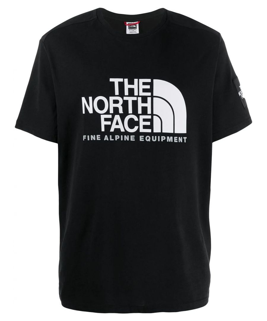Image for THE NORTH FACE MEN'S NF0A4M6NJK31 BLACK COTTON T-SHIRT