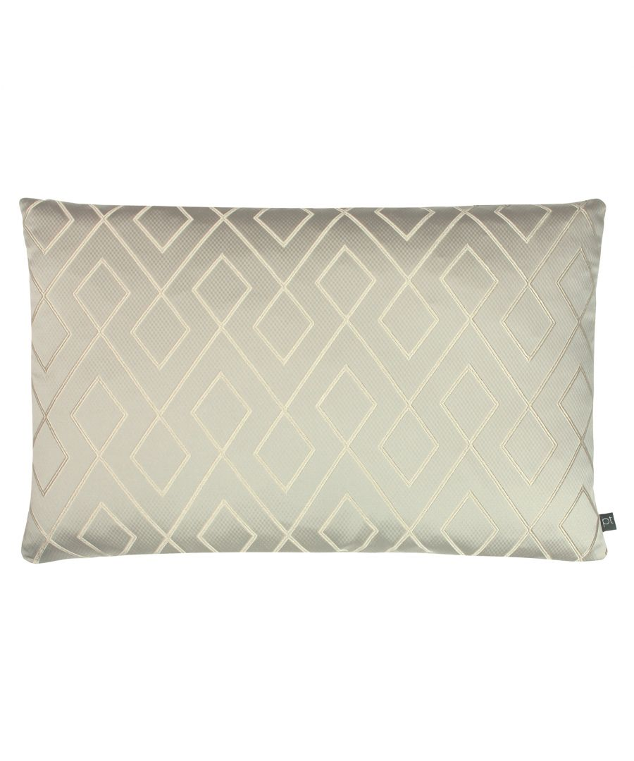 Image for Prestigious Textiles Pivot Polyester Filled Cushion, Polyester, Pumice