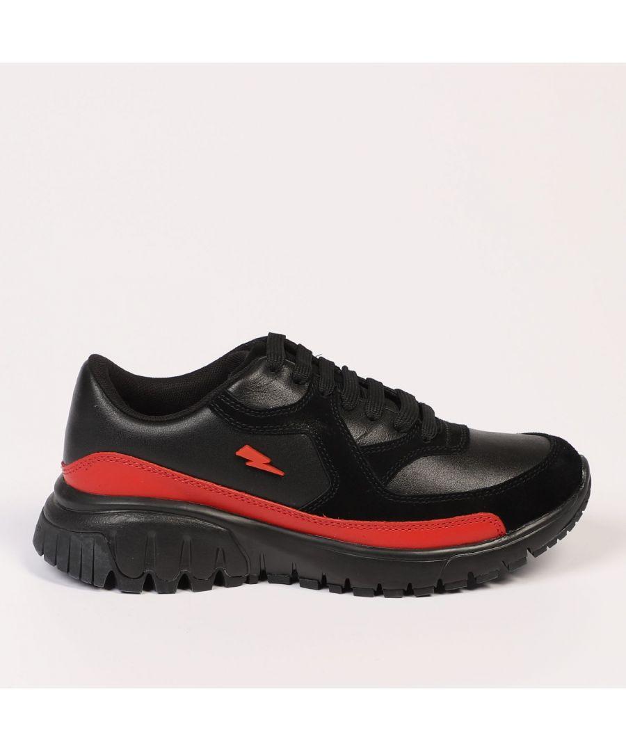 Image for Neil Barrett BLACK-RED Sneakers