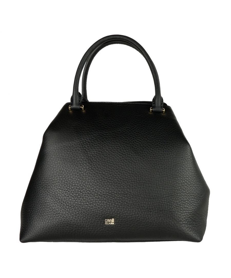 Image for Cavalli Class Black Handbag