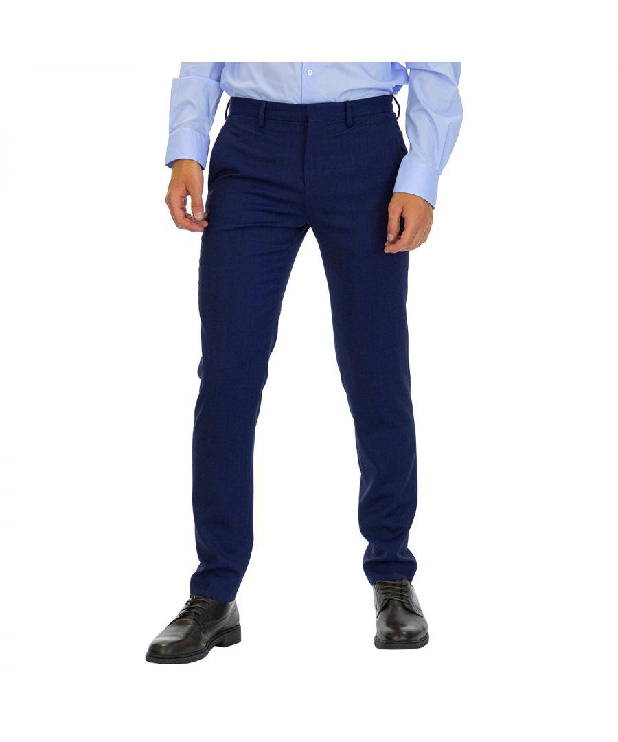 Image for Tommy Hilfiger Men Pants Slim Fit Blue