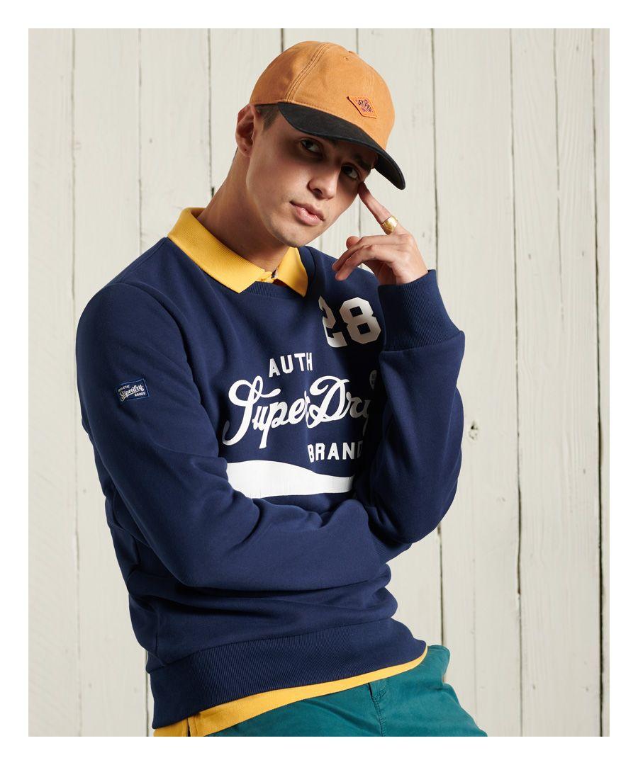 Image for Superdry Collegiate Crew Neck Sweatshirt