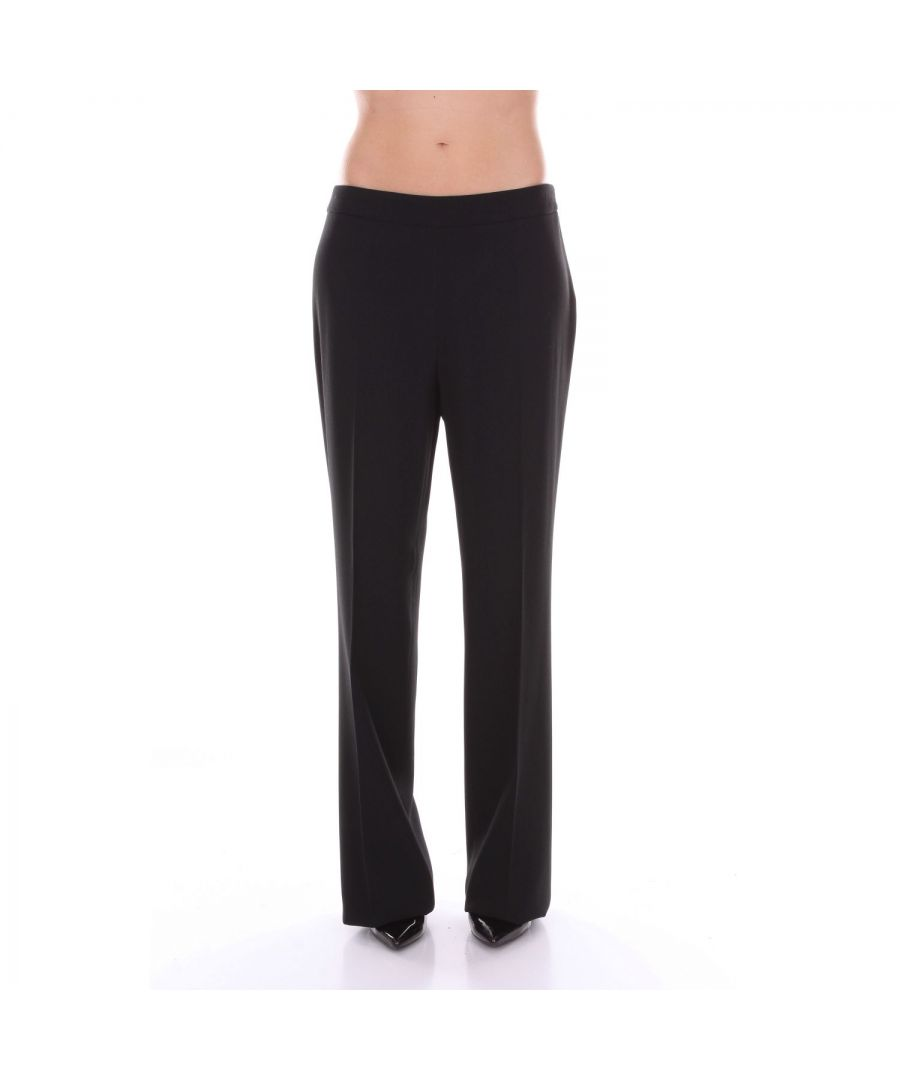 Image for CLIPS WOMEN'S S8L2009310BLACK BLACK SYNTHETIC FIBERS PANTS