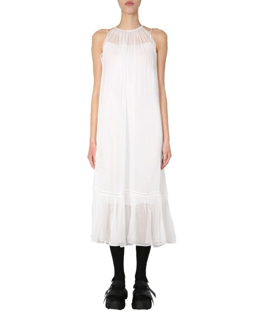 Image for MCQ BY ALEXANDER MCQUEEN WOMEN'S 592804ROF149010 WHITE VISCOSE DRESS