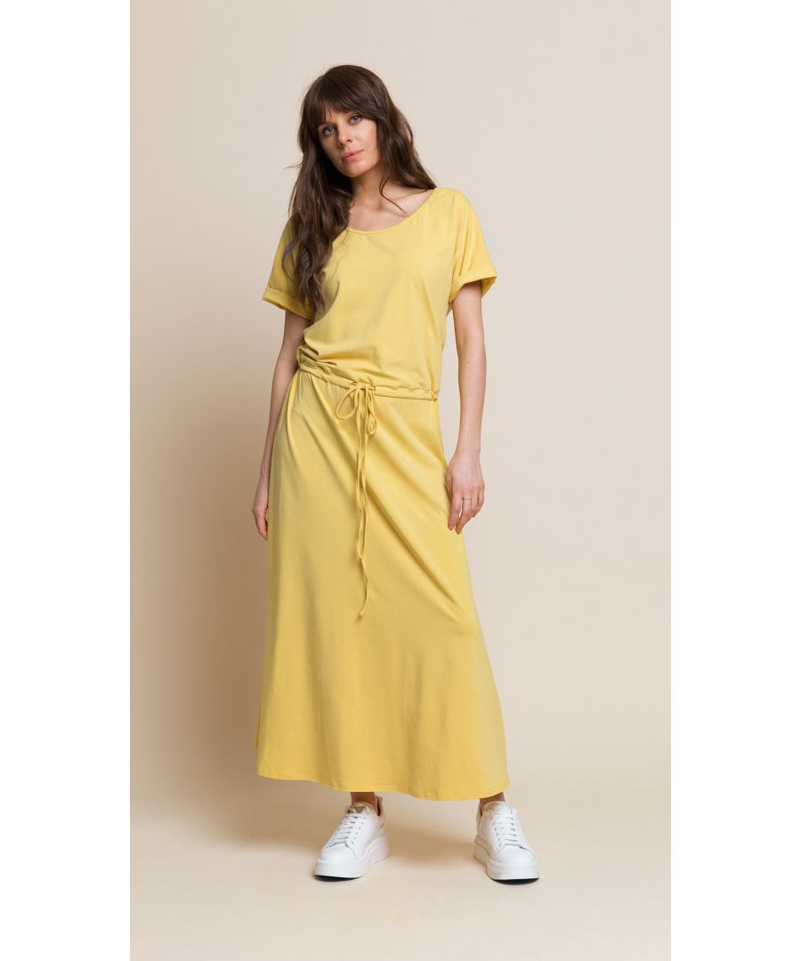 Image for Cindy Yellow Dress