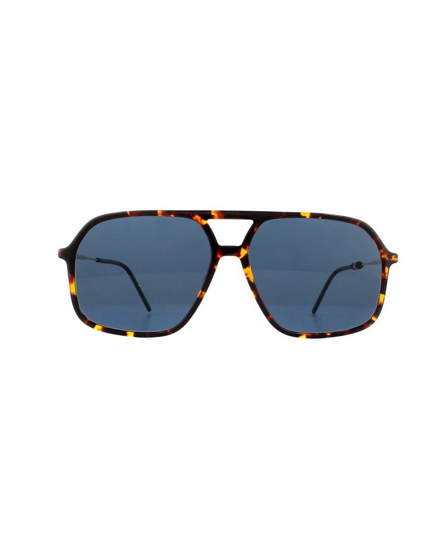 Image for Tommy Hilfiger Sunglasses TH 1645/S 086 KU Dark Havana Blue Avio