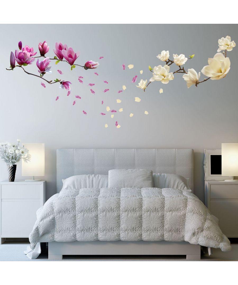 Image for Wall Art - Small White Magnolia + Magnolia Flowers