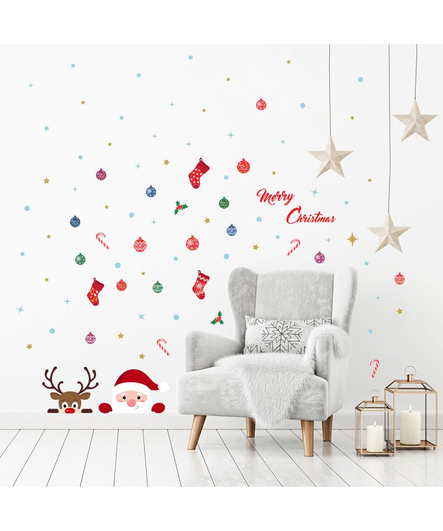 Image for C2W0070 - Merry Christmas with Rudolph and Santa - WS3329 + WS3322