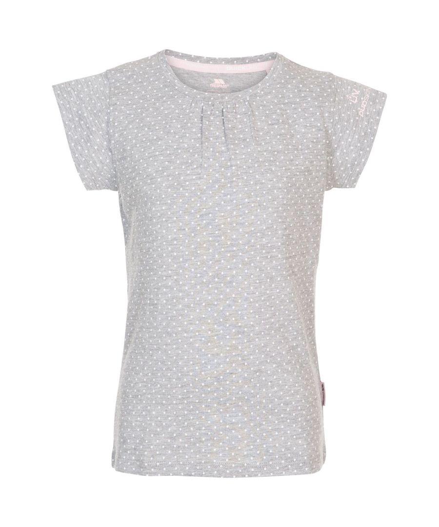 Image for Trespass Girls Harmony T-Shirt (Grey/White Marl)