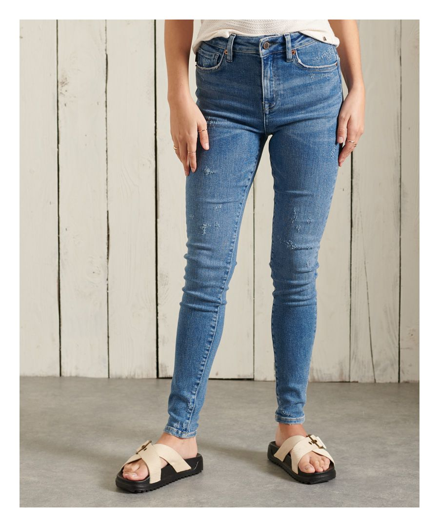 Image for Superdry High Rise Skinny Jeans