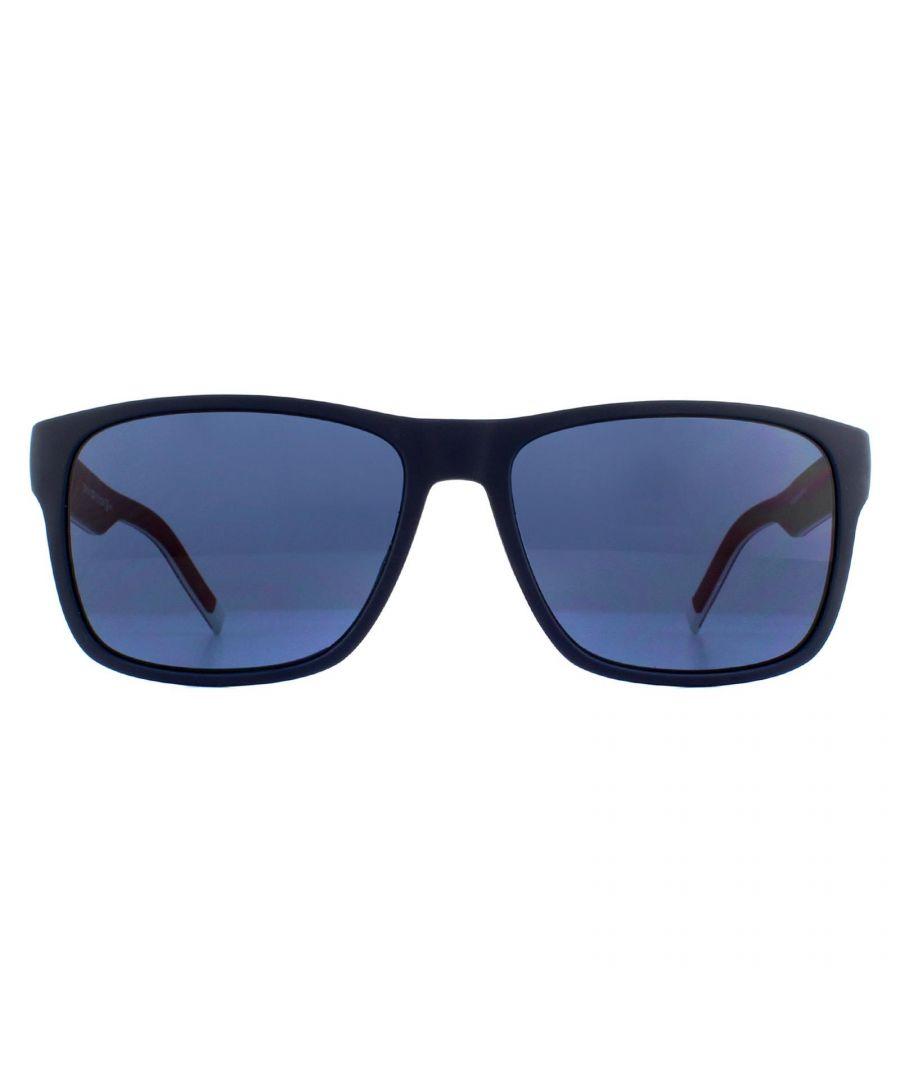 Image for Tommy Hilfiger Sunglasses TH 1718/S 8RU KU Black Red White Blue Avio