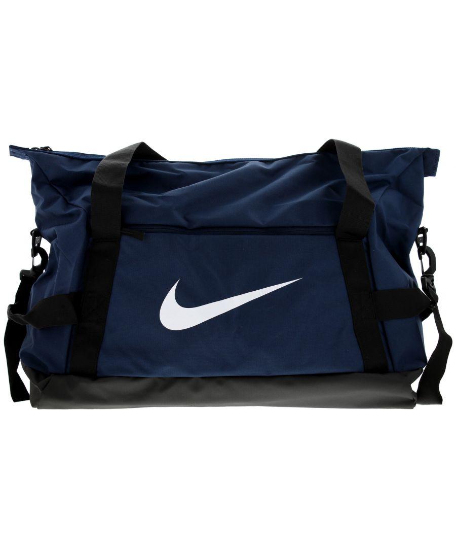Image for Unisex Nike Medium Holdall Carry Handles Adjustable Shoulder Strap Large Main Compartment Side Zippe