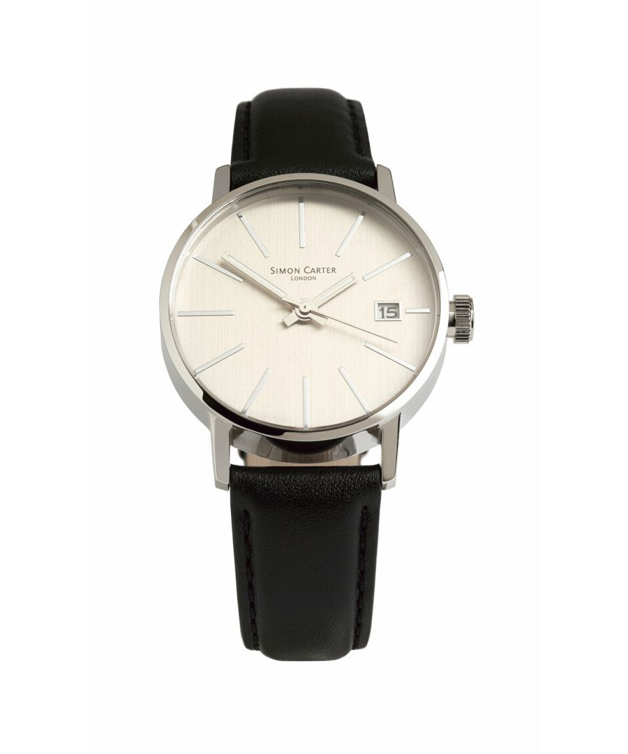 Image for Simon Carter LT905 Watch Silver Grey