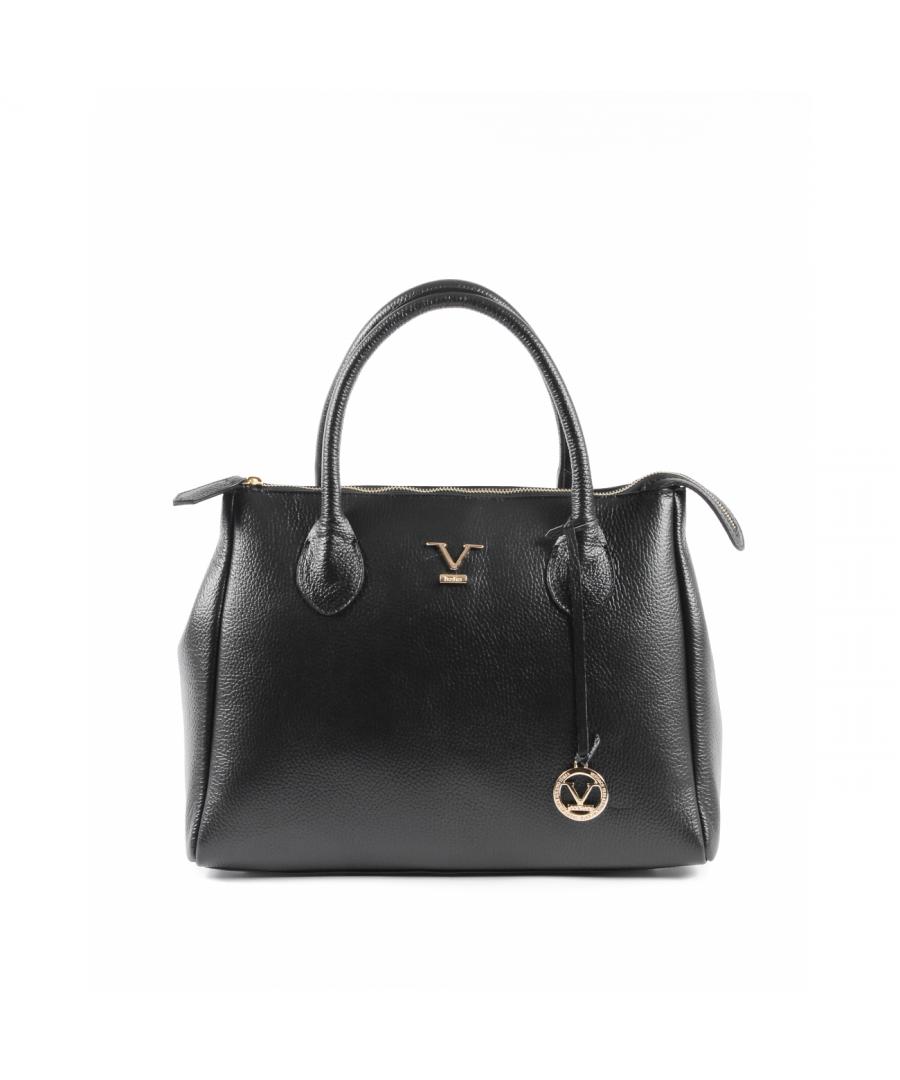 Image for 19V69 Italia Women's Handbag Black Ve1998 Dollaro Nero