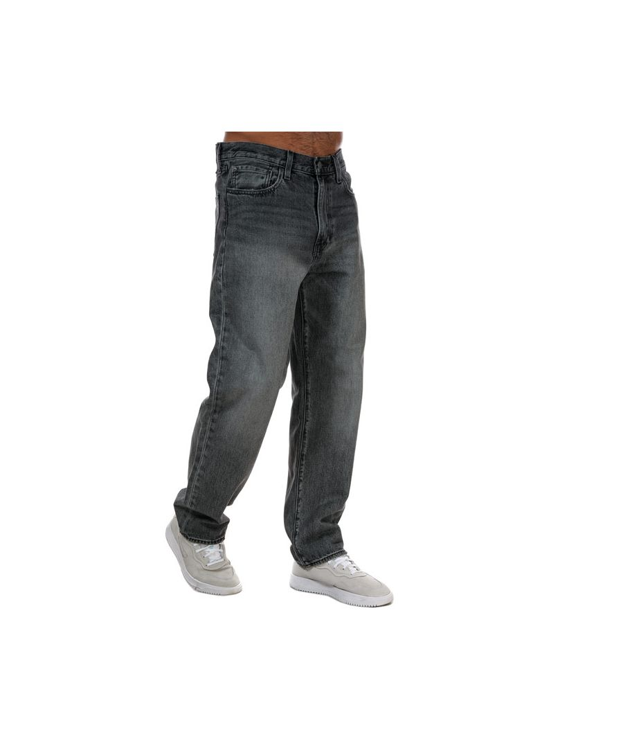 Image for Men's Levi's Stay Loose Chicken Fry Jeans Grey 31Rin Grey