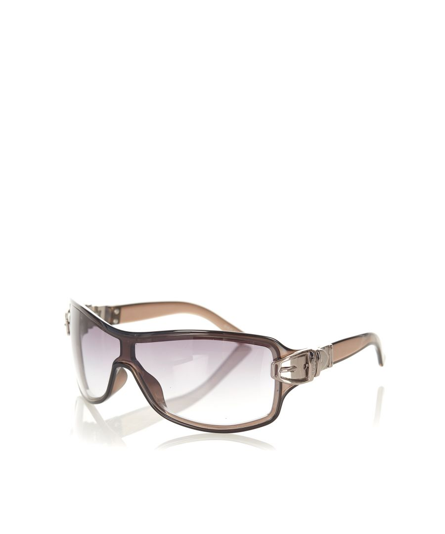 Image for Vintage Gucci Square Tinted Sunglasses Black