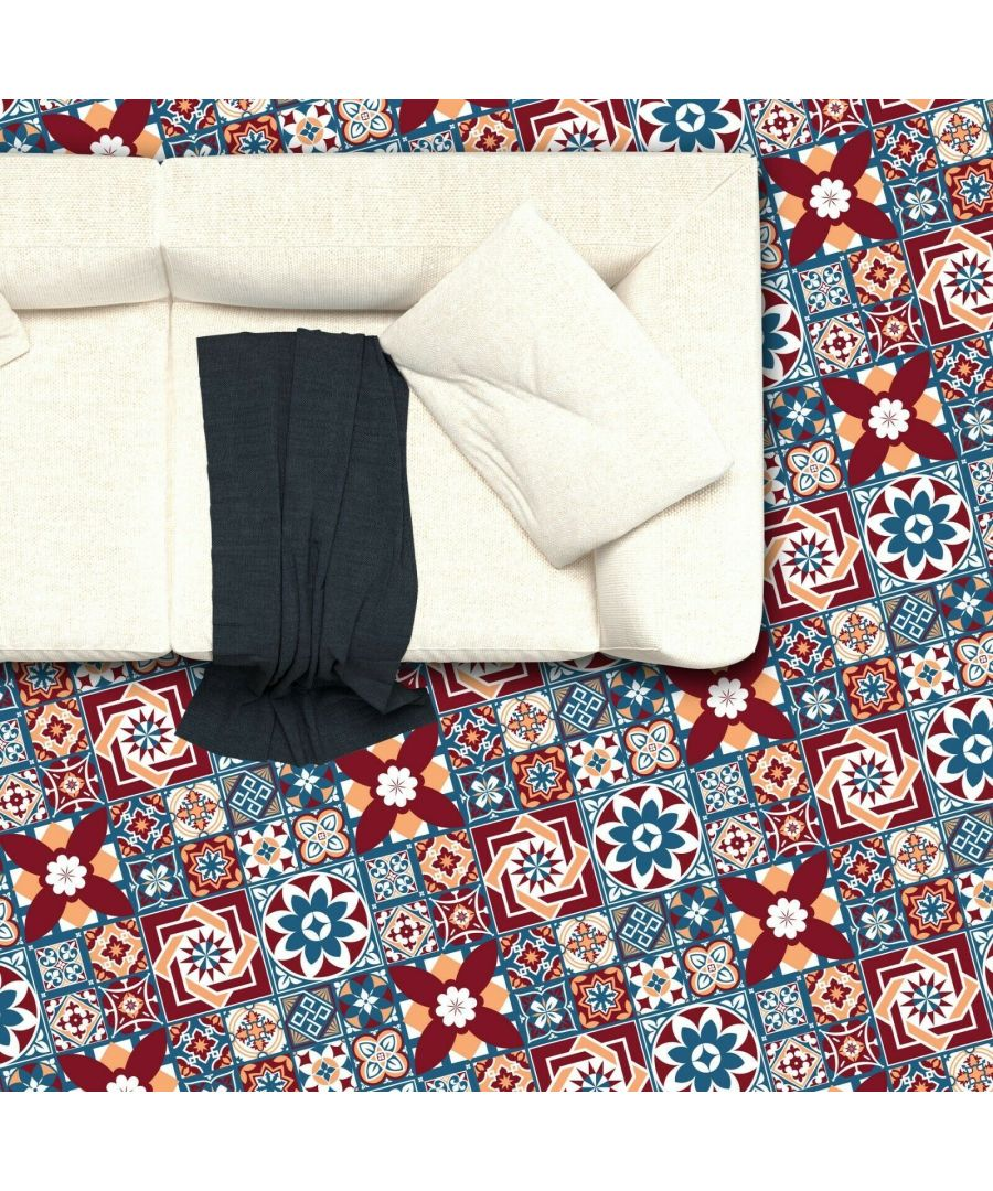 Image for WFS6014 - Westminster Tiles Melange Floor Sticker 120cm x 60 cm