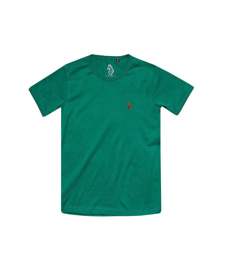 Image for Boys' Luke 1977 Infant Trouser Snake Crew T-Shirt in Green