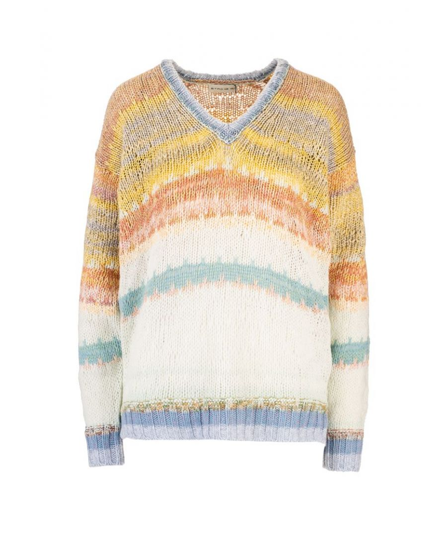 Image for ETRO WOMEN'S 1389196878000 MULTICOLOR WOOL SWEATER
