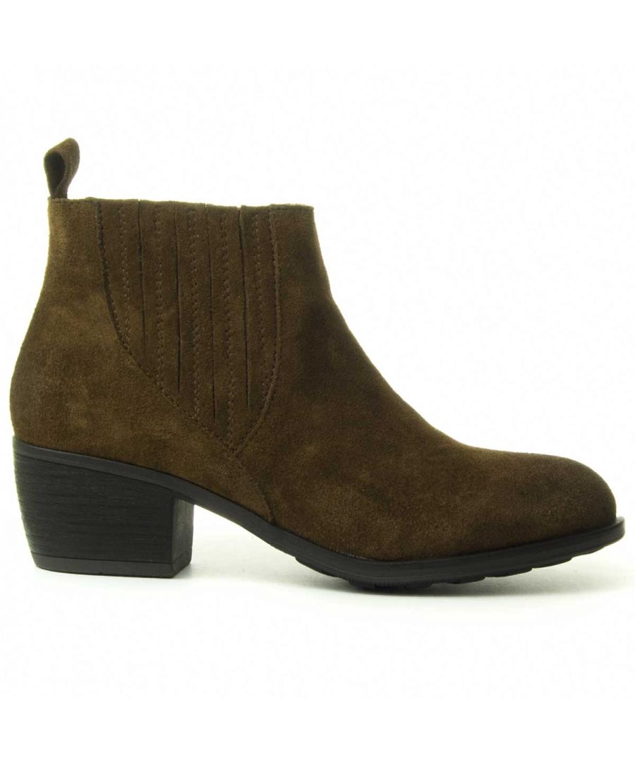 Image for Purapiel Ankle Boot in Brown