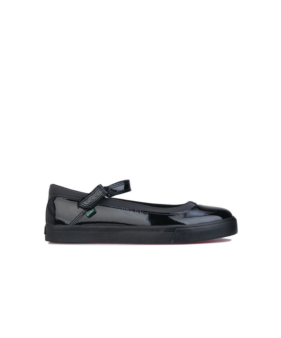Image for Women's Kickers Tovni Patent Leather Shoes In Black