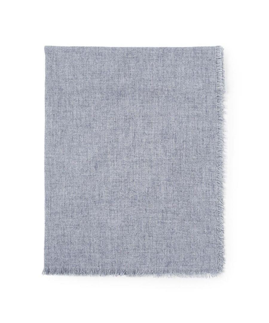 Image for Men's Hackett, Solid Marl Scarf in Light Grey