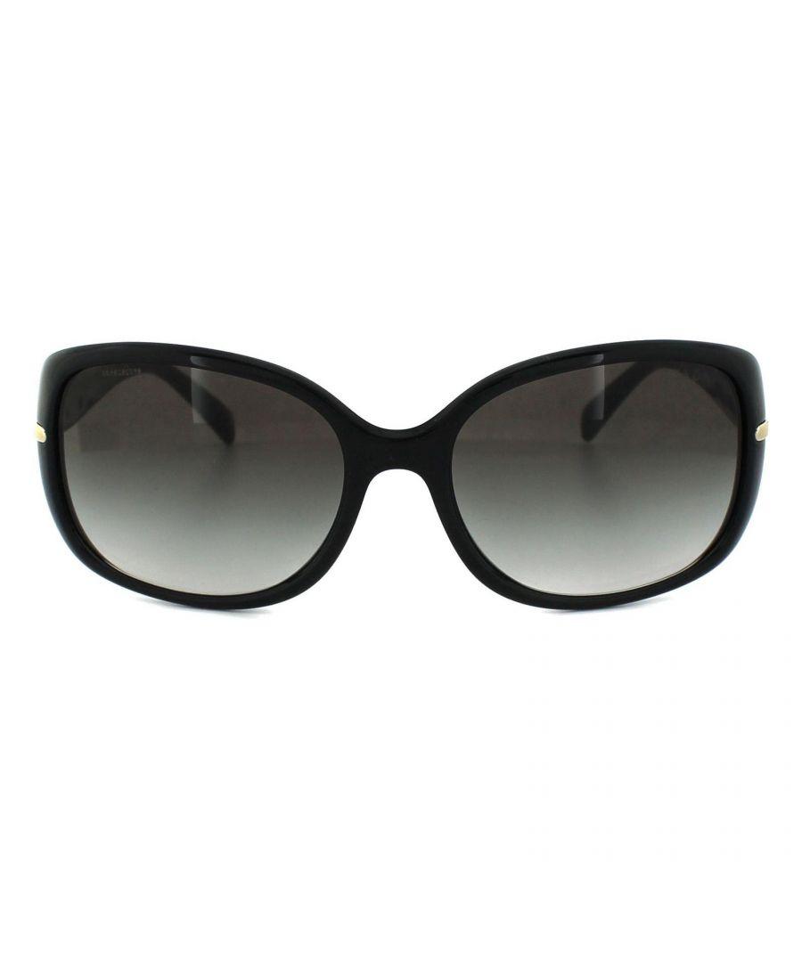 Image for Prada Sunglasses 08OS 1AB0A7 Black Grey Gradient