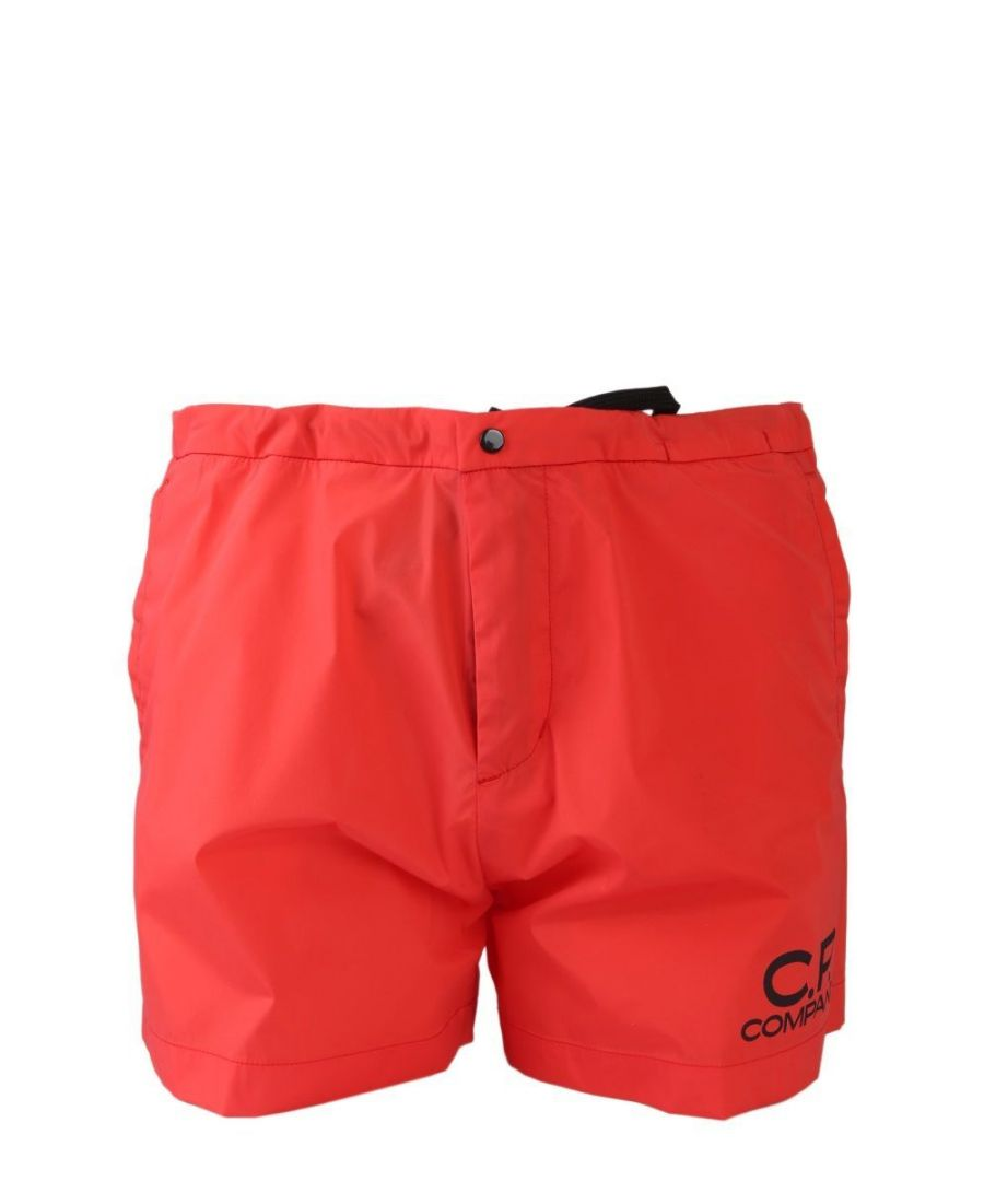 Image for CP COMPANY MEN'S 06CMBW162A005076A547 RED POLYAMIDE TRUNKS