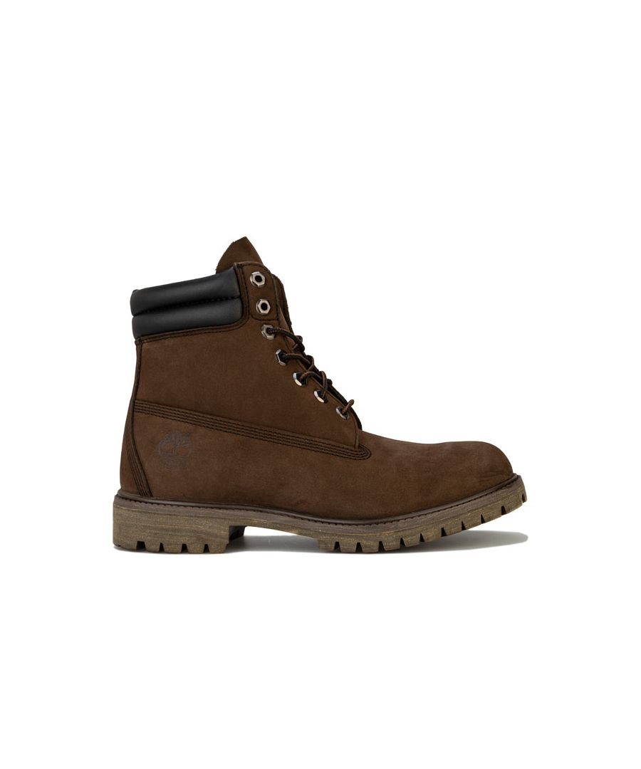 Image for Men's Timberland 6 Inch Double Collar Boots in Brown
