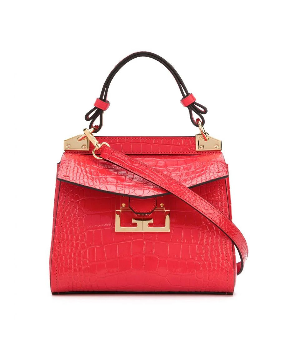 Image for GIVENCHY WOMEN'S BB50C3B0LK600 RED LEATHER HANDBAG