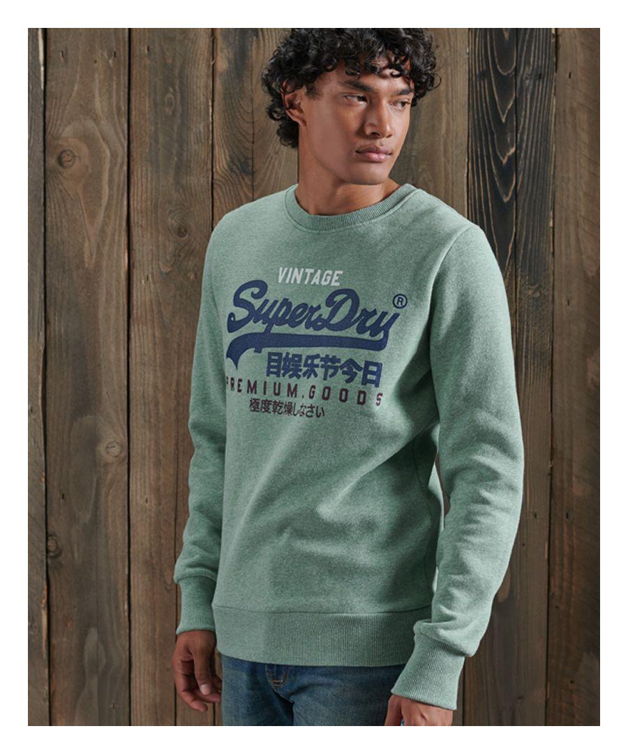 Image for Superdry Vintage Logo Tri Crew Sweatshirt