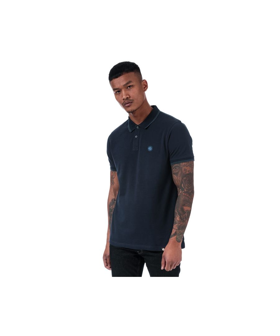 Image for Men's Pretty Green Barton Polo Shirt in Navy