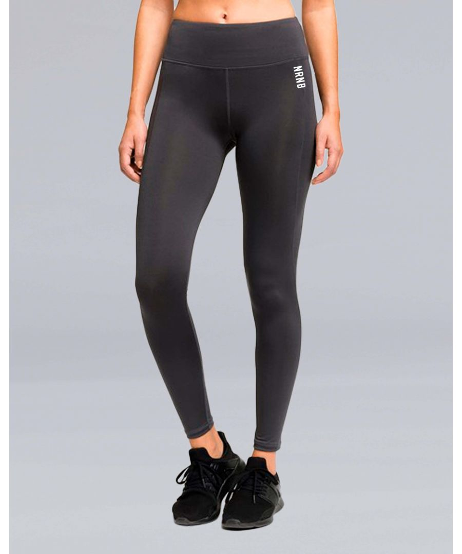 Image for Lightweight Performance Leggings in Charcoal