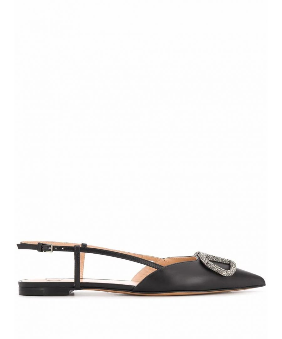 Image for VALENTINO WOMEN'S TW2S0R02PMM0NO BLACK LEATHER HEELS