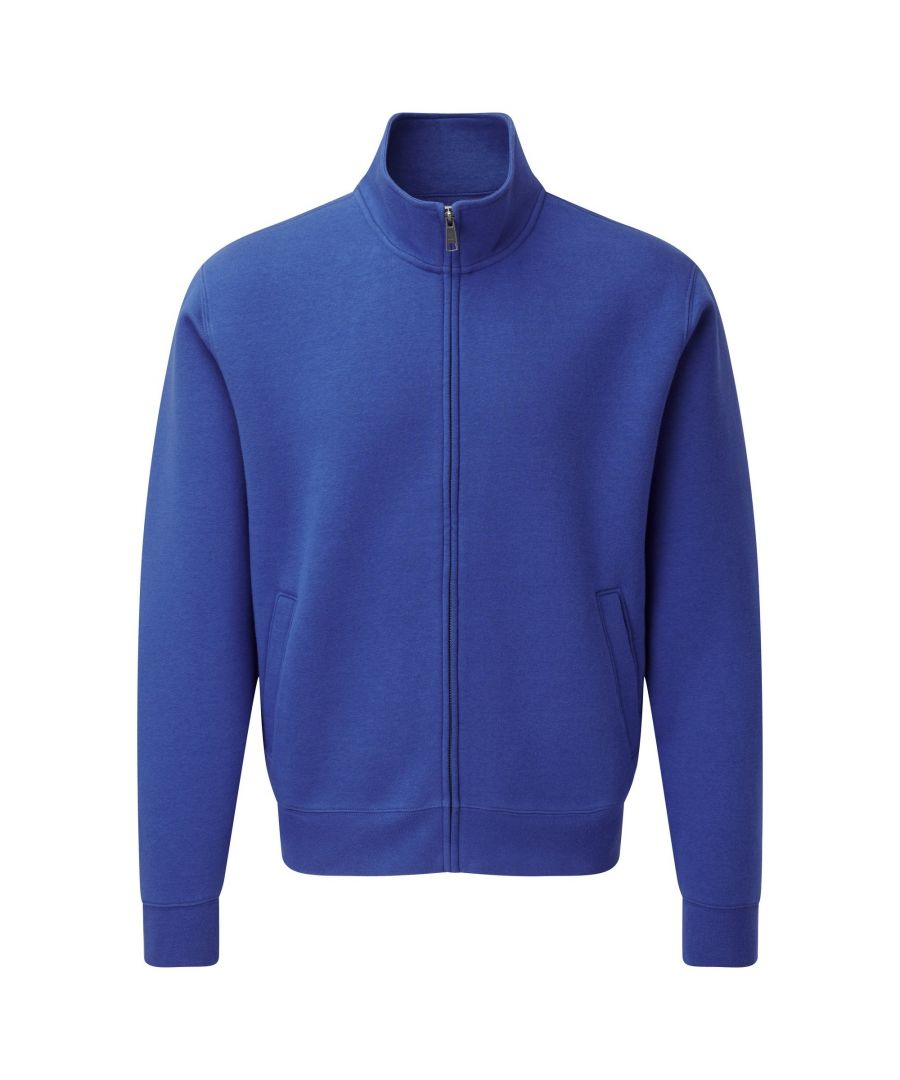 Image for Russell Mens Authentic Full Zip Sweatshirt Jacket (Bright Royal)