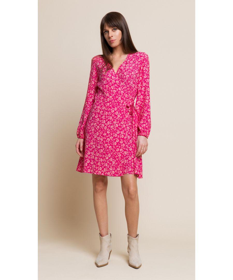Image for Wendy Floral Amaranthine Dress