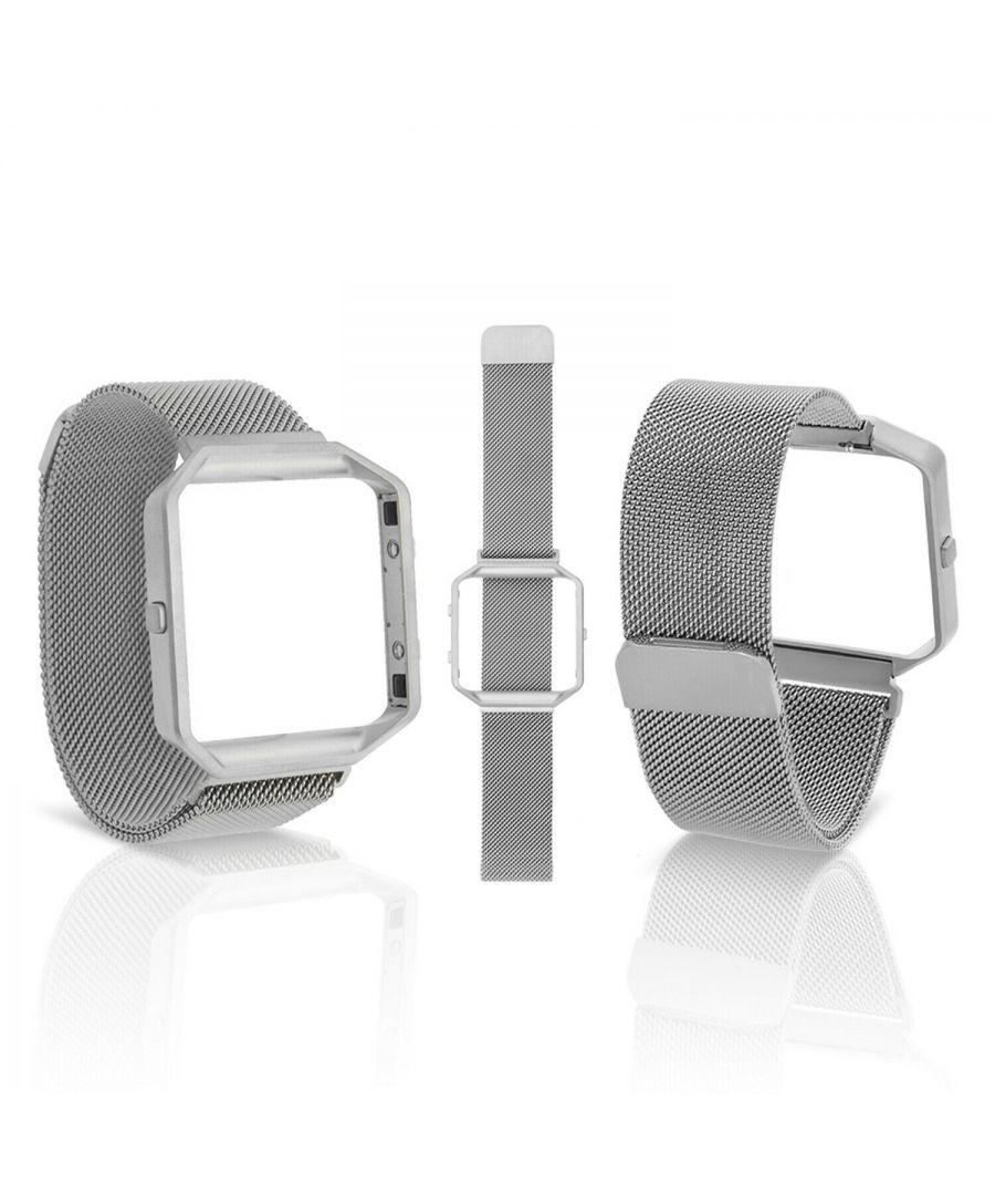 Image for Aquarius Fitbit Blaze straps Silver