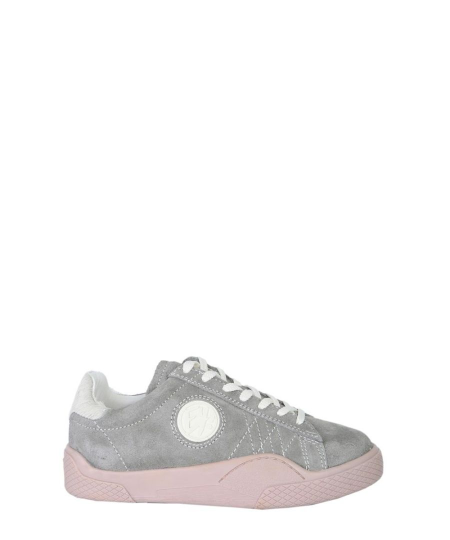 Image for EYTYS WOMEN'S WSSP026 GREY LEATHER SNEAKERS