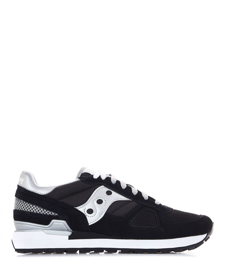 Image for SAUCONY WOMEN'S 1108671 BLACK SUEDE SNEAKERS