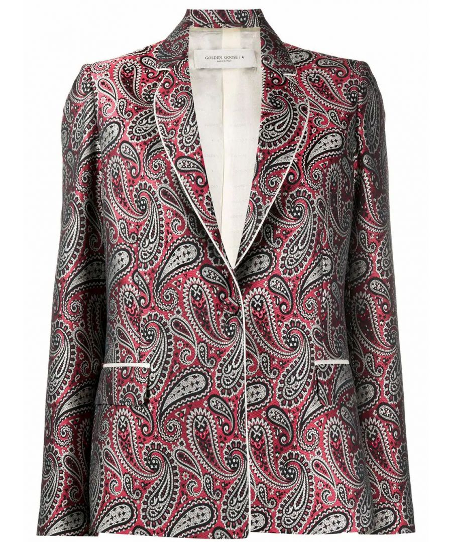 Image for GOLDEN GOOSE WOMEN'S G36WP060A3 RED POLYESTER BLAZER
