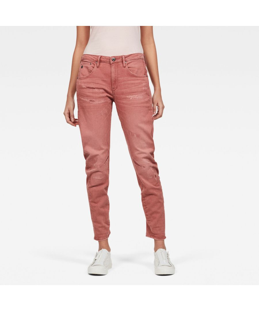 Image for G-Star Raw Arc 3D Low Boyfriend Earthtrace Restored Colored Jeans