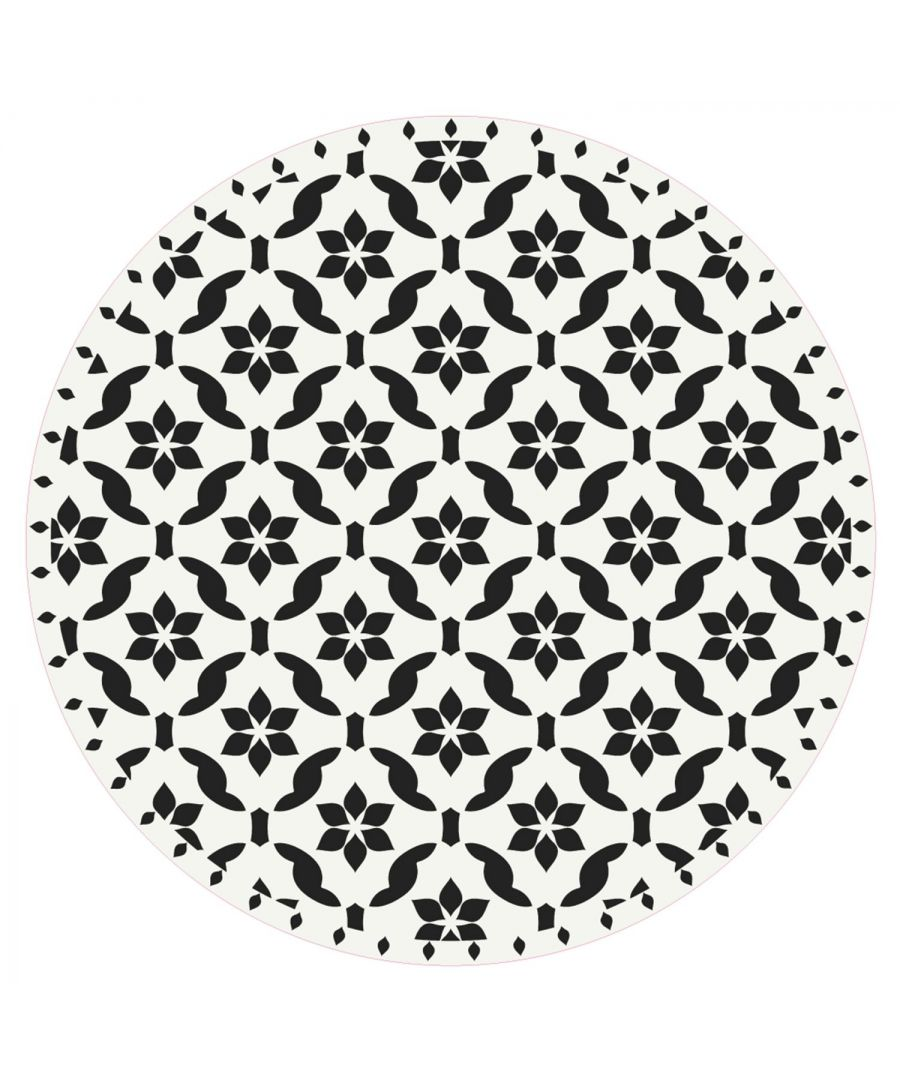 Image for WFM6202 - Seamless Antique Floral Pattern Mat 99 cm Diameter