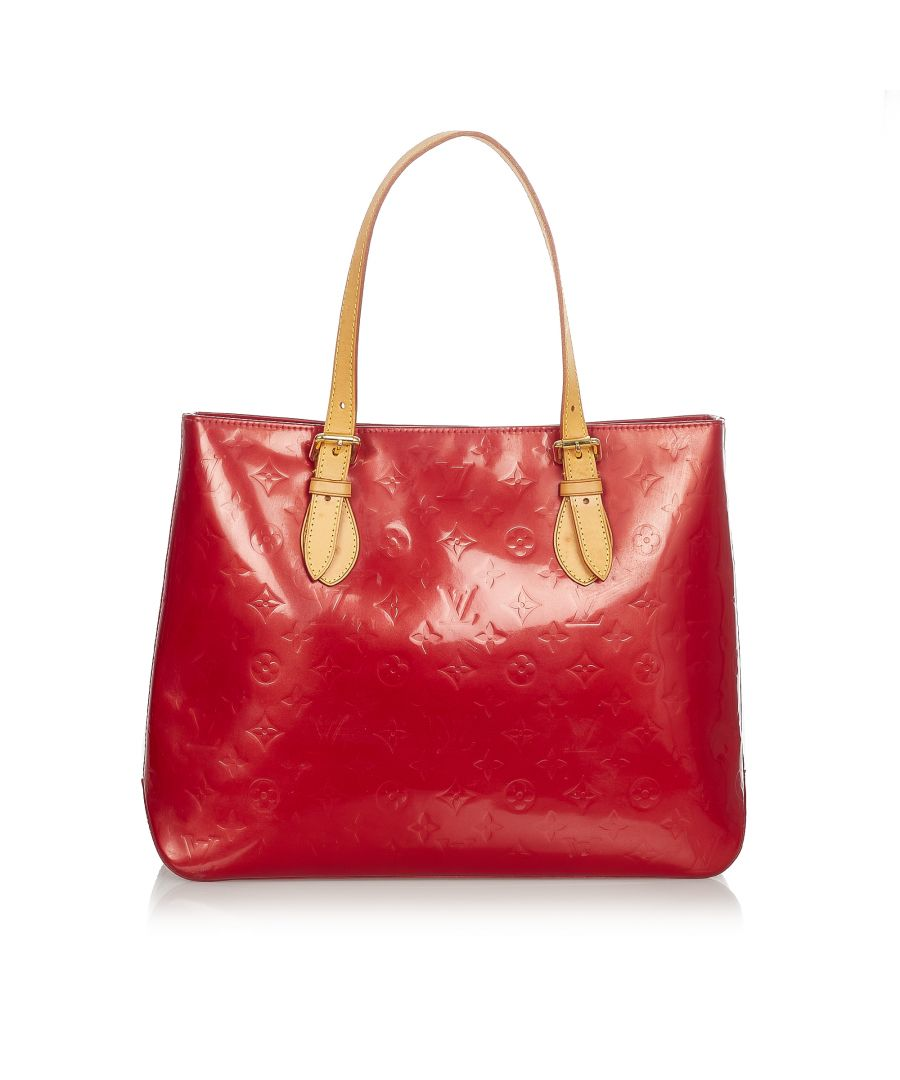 Image for Vintage Louis Vuitton Vernis Brentwood Red